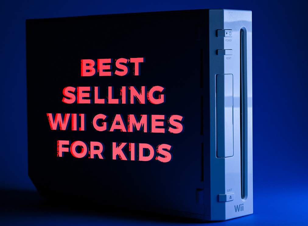 These Are the 5 Best Selling Wii Games for Kids
