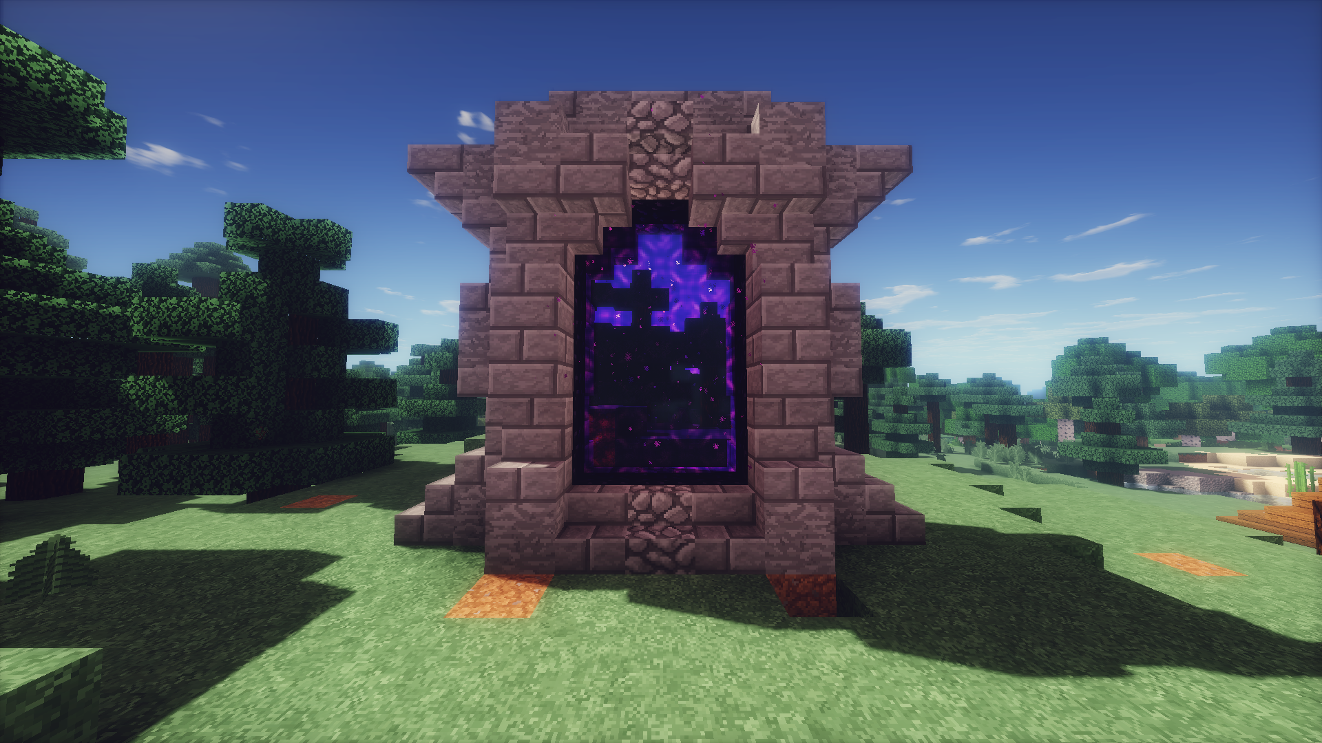Minecraft Guide: How to Build a Nether Portal