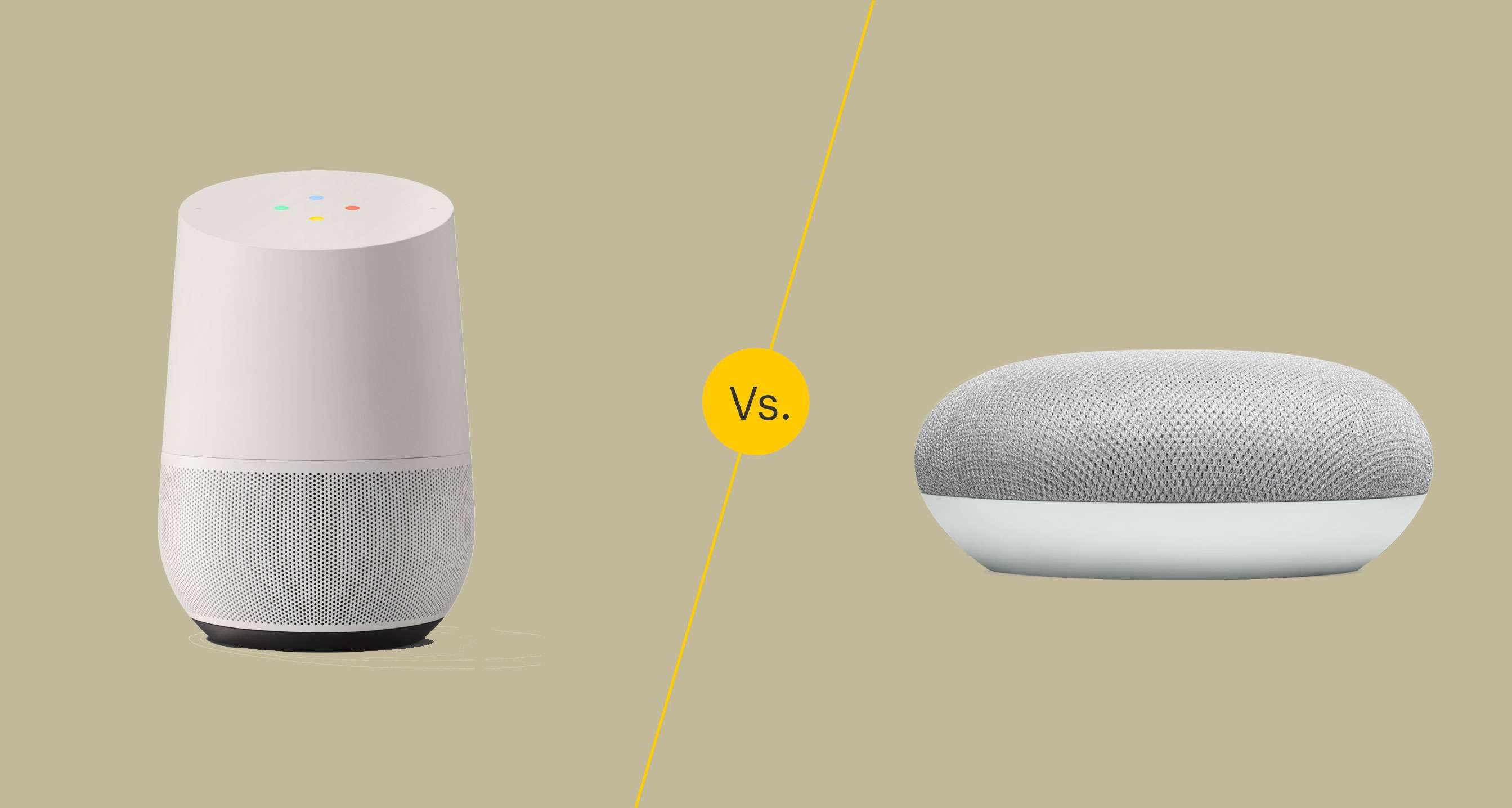 The Difference Between Google Home and Google Home Mini