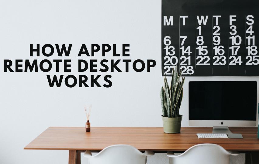 How Apple Remote Desktop Works
