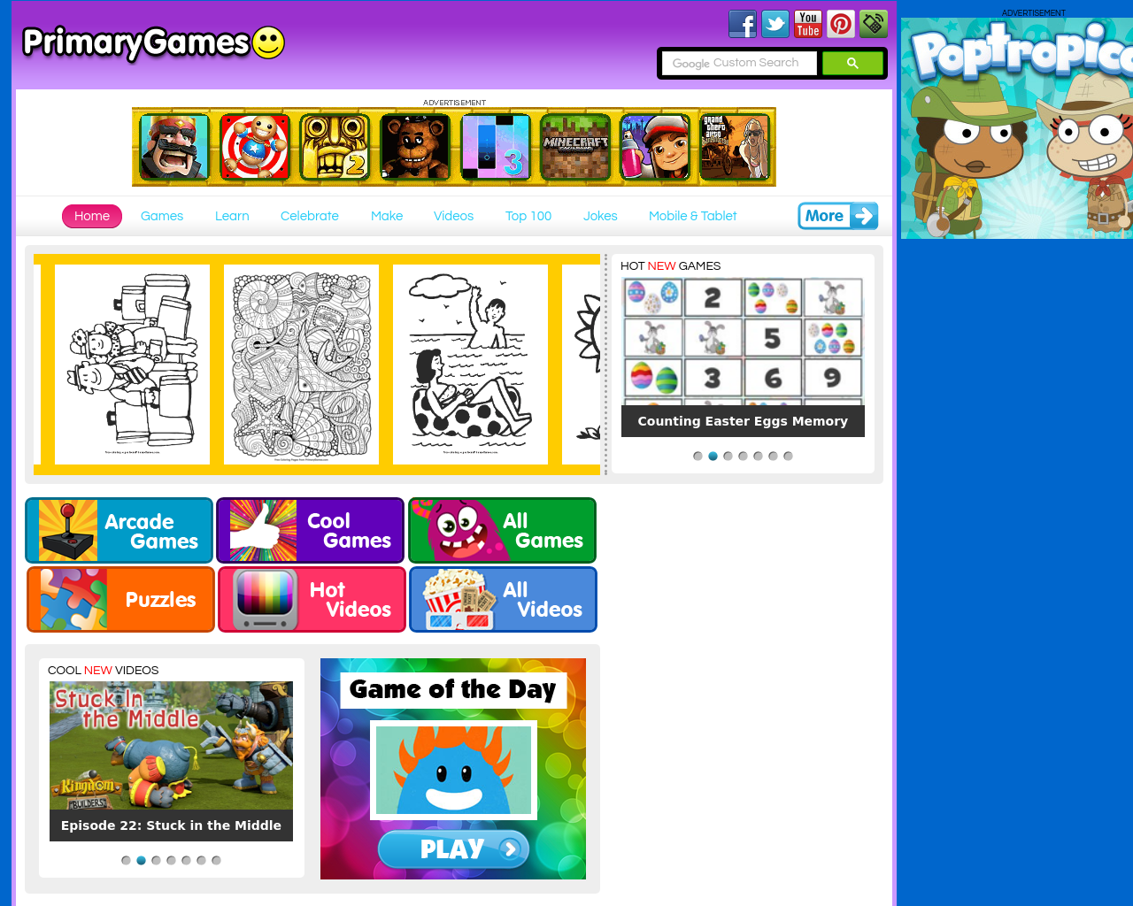 Primary Games: The Site For Primary School Gaming