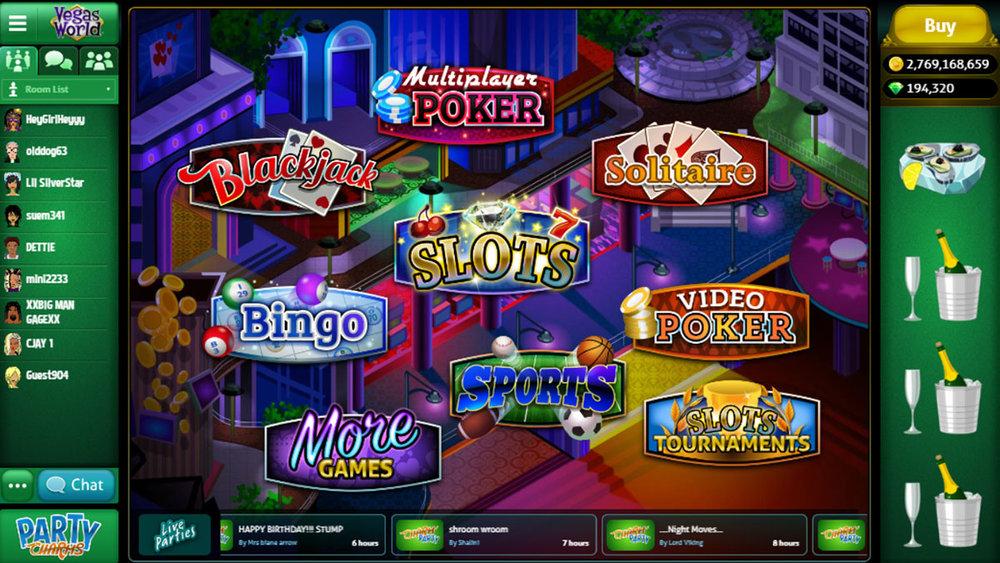 Vegas World Fun Free Slots