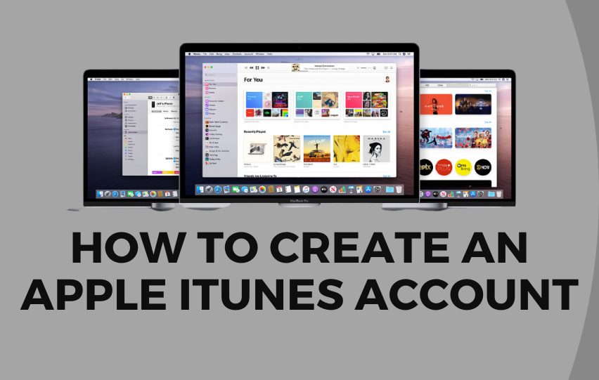 How to Create an Apple iTunes Account